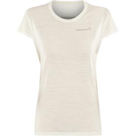 Norrøna Bitihorn Wool T-shirt Damer, snowdrop